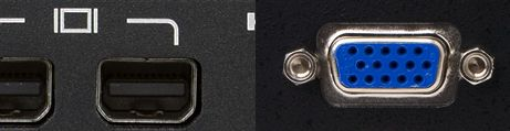 VGA zu Mini Displayport